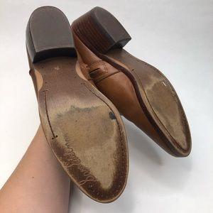 Sam Edelman Shoes - Sam Edelman Petty Cognac Brown Leather Booties